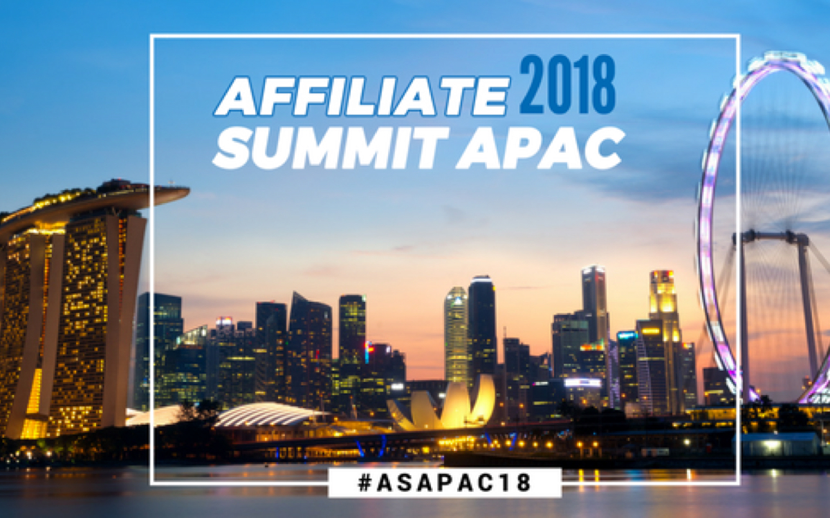 See you at Affiliate Summit APAC